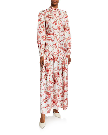 Elsa Alpine-Toile Shirtdress