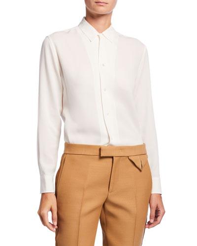 Taho Silk Georgette Shirt