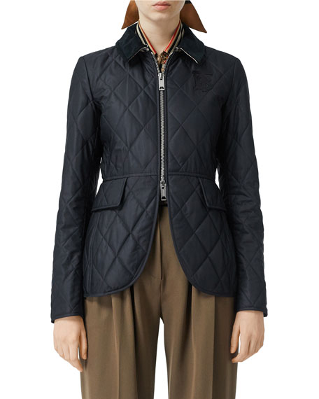 Equestrian Quilted Jacket