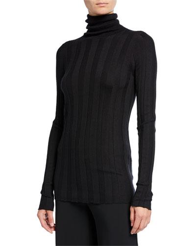 3afa658daf7e8 Promotion Inez Cashmere-Silk Turtleneck Sweater Quick Look. Derek Lam