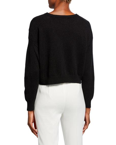 Wool-Blend Bateau-Neck Sweater