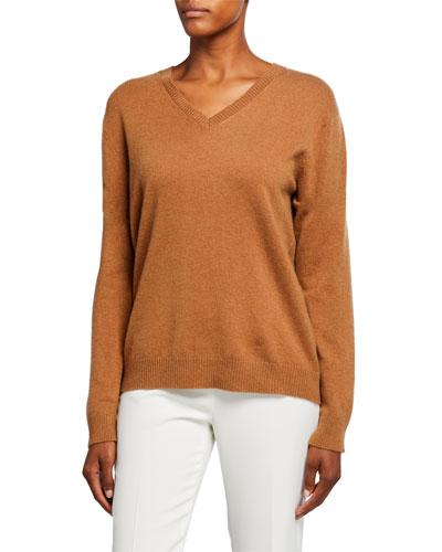 V-Neck Classic Cashmere Sweater