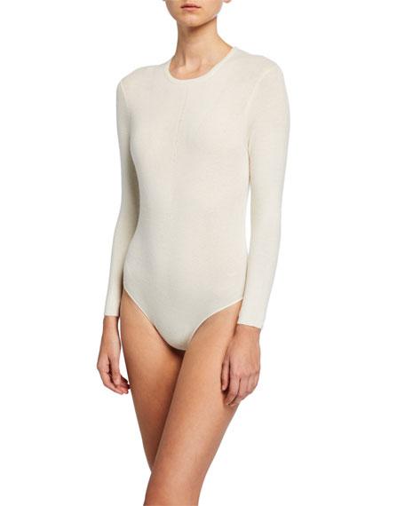 Cashmere Bracelet-Sleeve Bodysuit