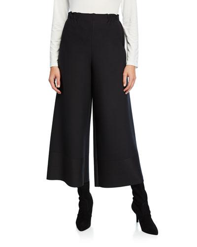Cosmic Ripple Wide-Leg Pants