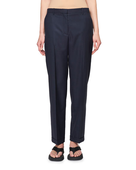 Rondi Cuffed Wool Pants