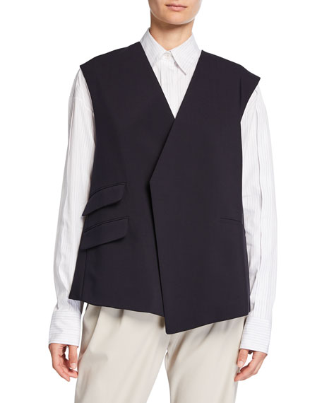 Trapeze Bonded Wool Vest