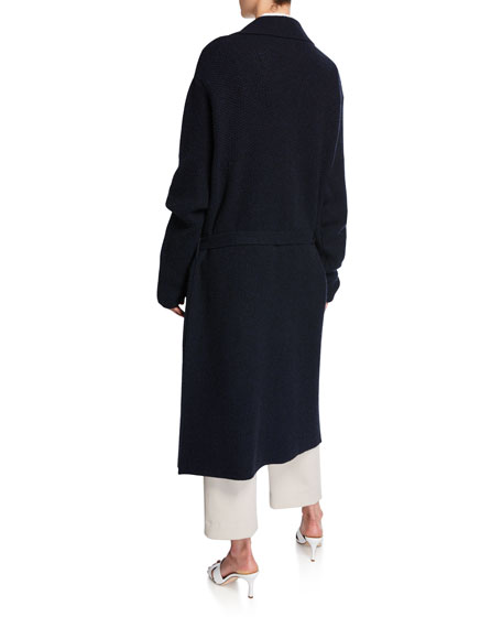 Cashmere Belted Cardigan Coat