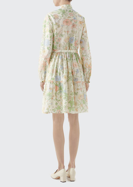 Broderie Anglaise Babydoll Shirtdress
