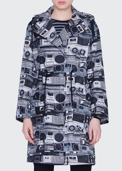 Stereo Jacquard Coat