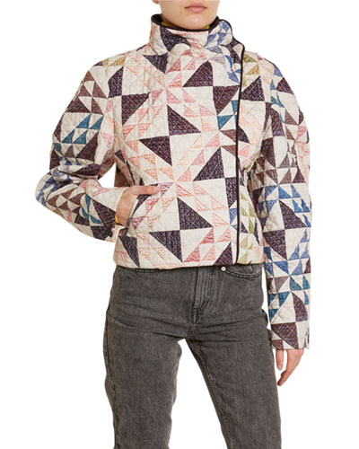 Patchwork Quilted Coat