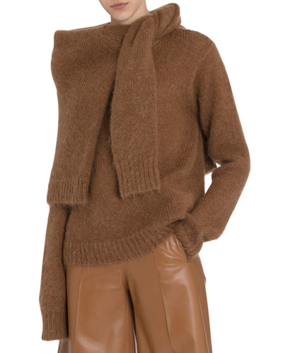 Chunky Mohair Double Sweater