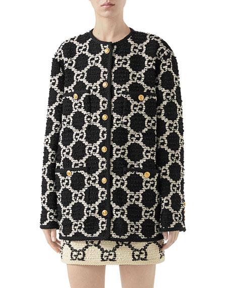 Optical GG Sylvie Tweed Jacket