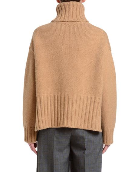 Heavy Cashmere Turtleneck Sweater
