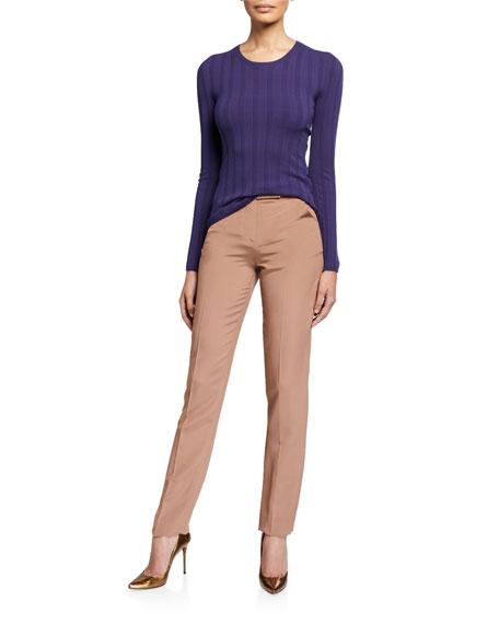 Classic Zip-Front Pants