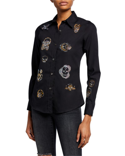 Be True to Your Skull Slim-Fit Shirt
