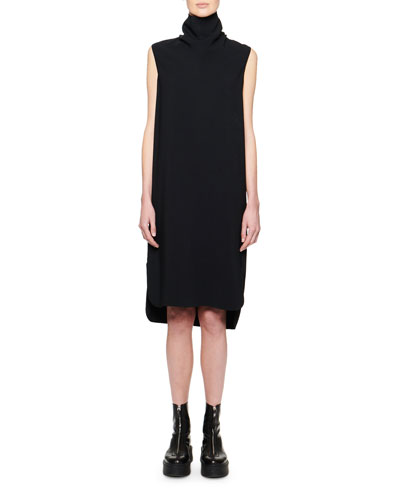 Dorma Funnel-Neck Sleeveless Dress