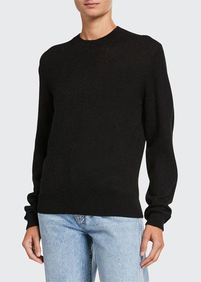 Viola Cashmere Crewneck Sweater