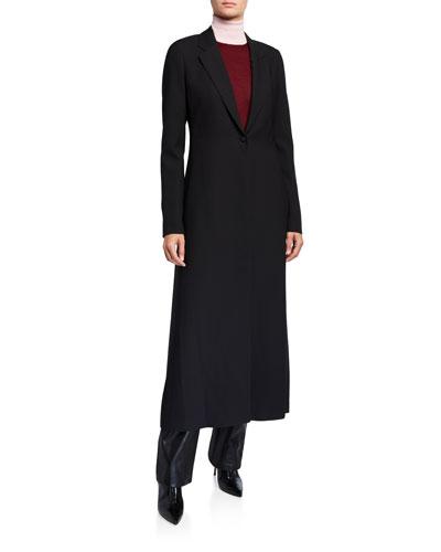 Nikita Silk-Wool Cady Coat