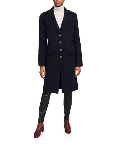 Julio Cashmere Cocoon Coat