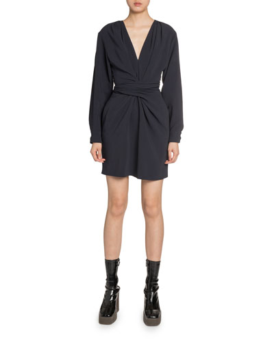Twisted-Front Cady Dress