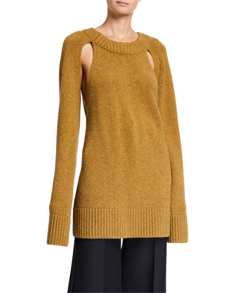 Liz Cashmere Cutout Sweater