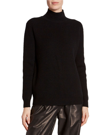 0cfd93850b403 TOM FORD Cashmere Large-Ribbed Mock-Neck Sweater
