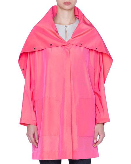 Bella Taffeta Coat