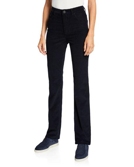 Rodger Corduroy Straight-Leg Pants