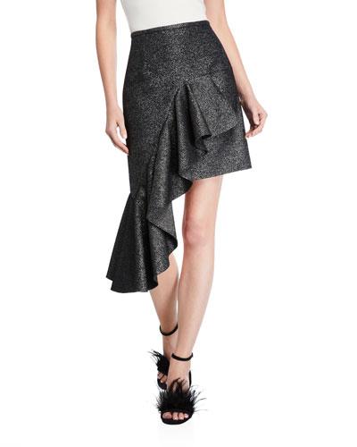 Cascading Miniskirt
