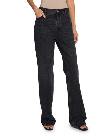High-Rise Japanese Denim Jeans