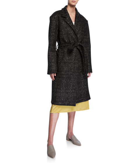 Belted Double-Face Coat