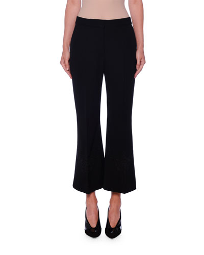 Anglais Flare Crop Trousers