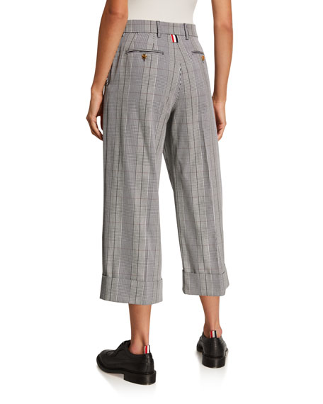 Prince of Wales Sack Trousers