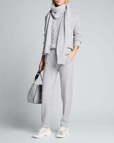 Cashmere Knit Joggers