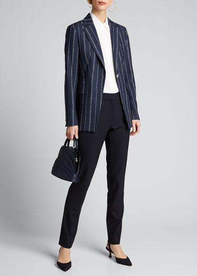 Pinstriped Jacket