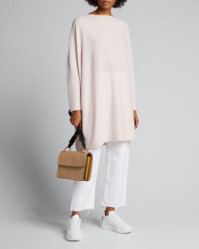 Cashmere Square Kaftan Sweater