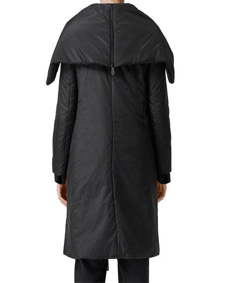Cape Wrapped Coat