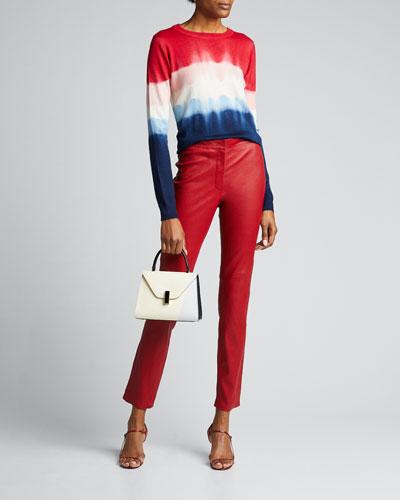 Cashmere Tie-Dye Sweater