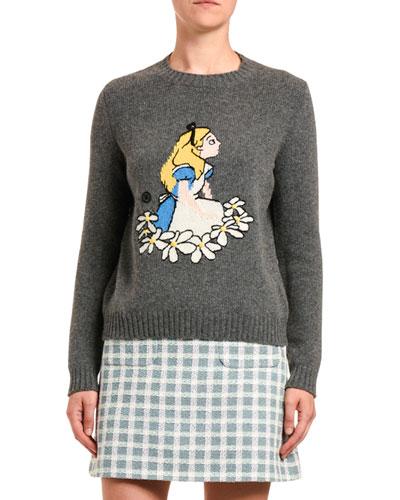 Alice Lambswool Intarsia Sweater