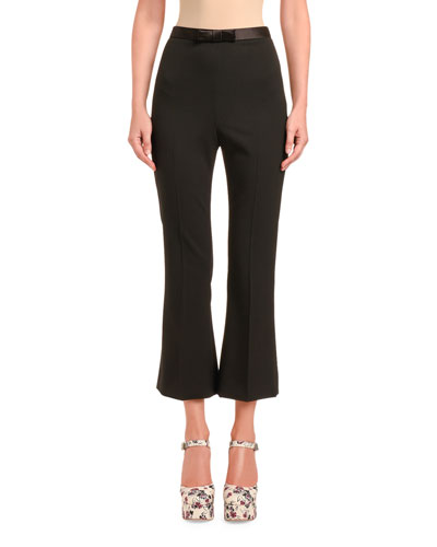 Cady Flare Pants with Bow