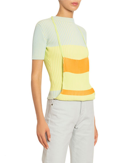 La Double Colorblocked Sweater
