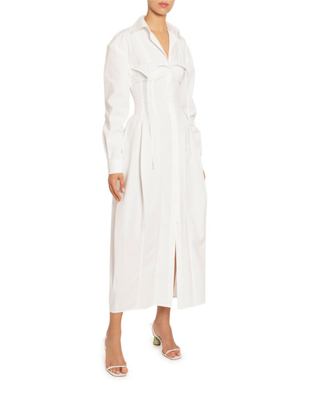 Image 1 of 1: La Valensole Shirtdress