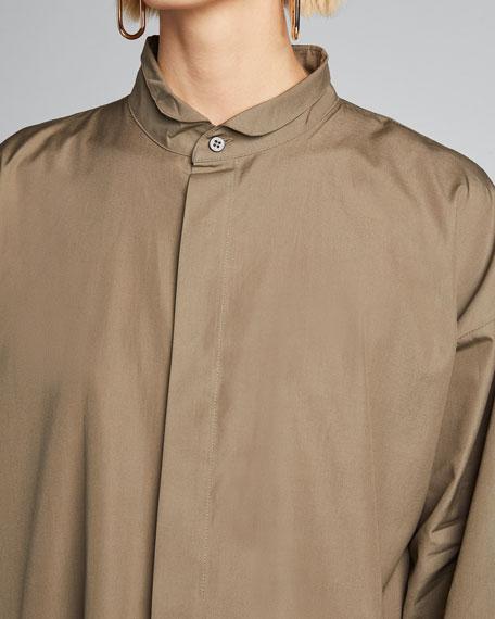 Poplin Midi Shirtdress