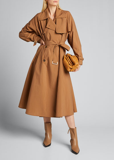 Falster Hammered Trench Coat
