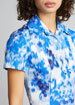 Floral Print Short-Sleeve Shirtdress