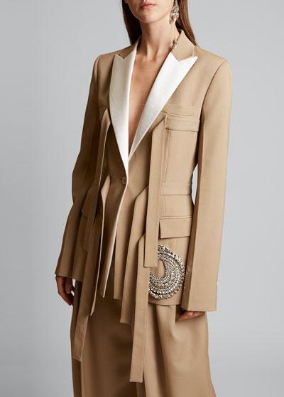 Crystal Trip Blazer Jacket