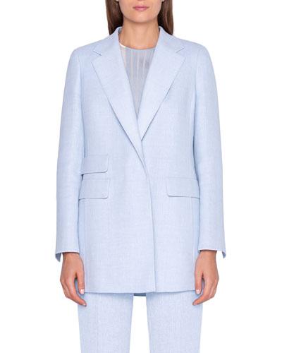 Linen-Wool Jacket