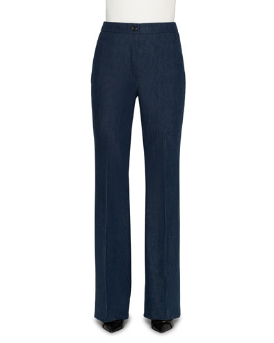 Farida High-Rise Denim Pants