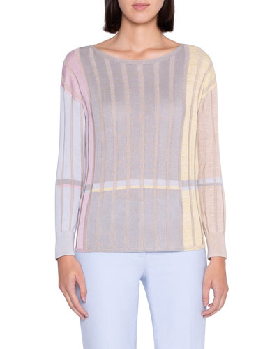 Variazoni Silk-Linen Sweater