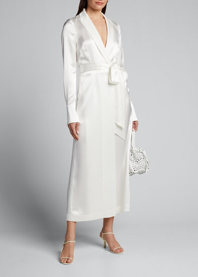 Callisto Silk Midi Dress